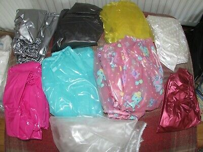 Plastic pants, Adult baby rubbers. Large
