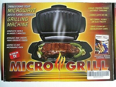 Micro Grill As Seen On Tv Microwave Grilling Boxed With Pamphlet