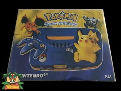 1X Boitier De Protection 0,4 Transparent Pvc Pour Console N64 Pokemon Pal