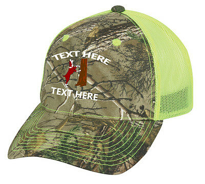 8d18874b2 CAP HAT CUSTOM Camo Yellow Mesh Coonhound Hound Dog Hunt Coon Mtn ...