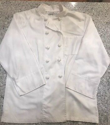 Chef Works White Coat And Apron size L