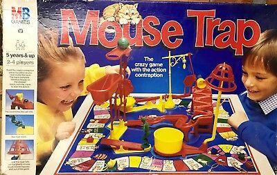 Vintage Mouse Trap Board Game Spares by mb games 1993 CHOOSE YOUR PART
