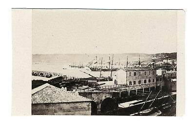 "Photo cdv ALGER 1856 ""Administration de la marine"" Belle Albumine A. MOULIN"