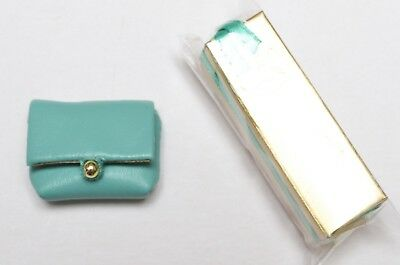 East 59th TURQUOISE SPARKLER PURSE & EMPTY GIFT BOX ONLY Evelyn Weaverton NEW