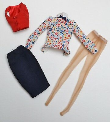 Poppy Parker Co-Ed Cutie OUTFIT ONLY City Sweetheart Collection NEW