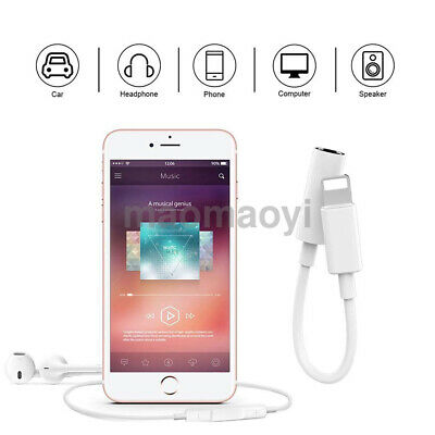3.5mm Headphone Jack Aux Earphone Audio Adapter Cable Cord for iPhone 8 7 Plus