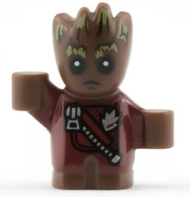 LEGO Marvel Guardians of the Galaxy Baby Groot MINIFIG new from Lego set #76080