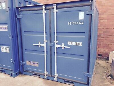 6ft nearly NEW Self Storage Shipping Container FOR HIRE - Thornton Cleveleys