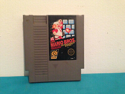 Super Mario Bros. Nintendo NES  Cartirdge only CAN variant