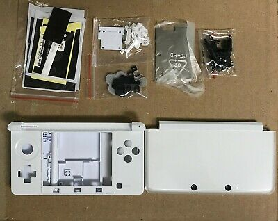Nintendo 3DS Original FULL Replacement Shell Housing Case White BRAND NEW USA!