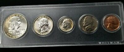 1954-P US Mint Silver Uncirculated Set In Whitman Acrylic Case 90% Silver SC8680