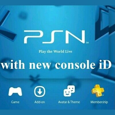 PS3 Console ID/CID + PSID 100% Private MOST TRUSTED SELLER Limited Time at £4.50