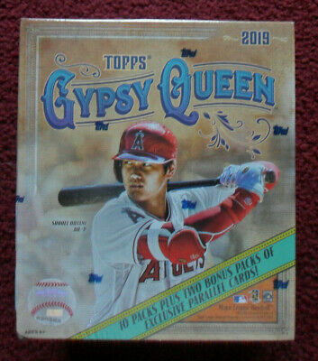 2019 Topps GYPSY QUEEN MONSTER BOX ~ Ten Packs + Two Exclusive Parallel Packs