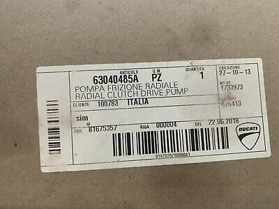 Ducati Radial Clutch 17mm Master Cylinder 63040485A Streetfighter