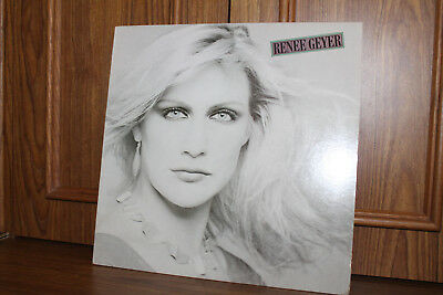 RENEE GEYER, SELF TITLED LP Portrait ARR 37949 1982 1st PR  Promo EX/EX
