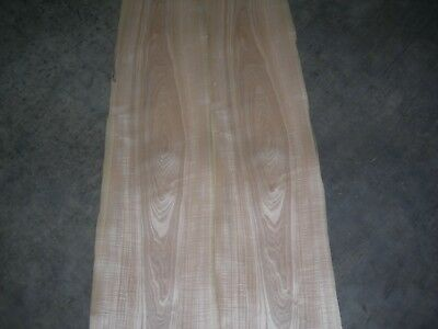 Figured Tamo Ash Wood Veneer. 11 x 101, 4 Sheets.