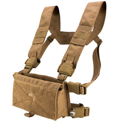 Viper VX Buckle Up Airsoft Tactical Modular Utility Pouch Chest Rig Vest Coyote