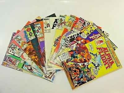 Lot of 12 Early Marvel Alpha Flight 1980's Issues 1 2 3 4 5 6 7 9 10 15 18 33