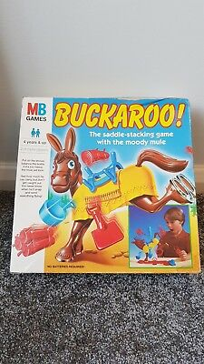 BUCKAROO MB Games (1996) Hasbro - 100% Complete in VGC+ Classic Vintage Game