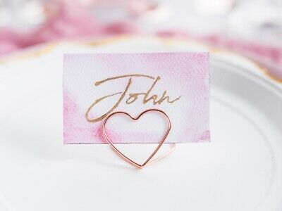 Rose Gold Hearts Table Confetti Sprinkles Rose Gold Party Table 9903474