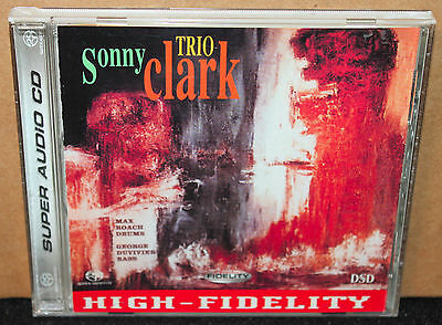 Sonny Clark Trio SACD Hybrid Super Audio CD DSD 2003 Remastered out of print rar