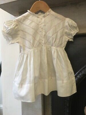 1940s Candy Stripe Baby Toddler Dress