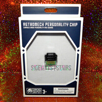 DROID DEPOT PERSONALITY CHIP BLACK First Order Star Wars Galaxy's Edge Disney