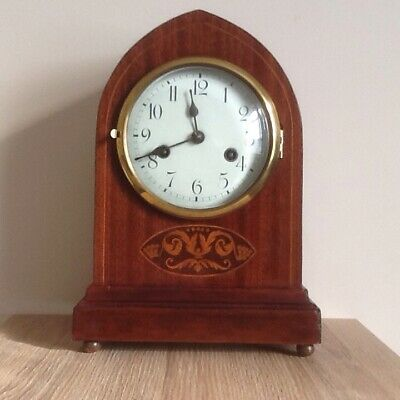 Edwardian Lancet Gustav Becker Mantle Clock