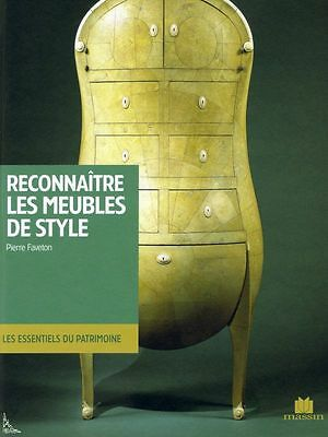 Identifying French styles for furniture, French book