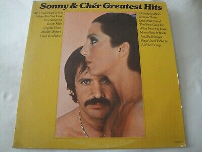 Sonny & Cher Greatest Hits Vinyl Lp Album 1974 Mca Record All I Ever Need Is You