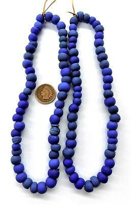 Padre Trading Post AntiqueStyle Crow Mixed  Blue Trade Beads  {50}     T2247 bin