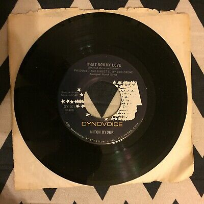 Mitch Ryder - Blessing In Disguise / What Now My Love - 45 Rock Soul Jukebox