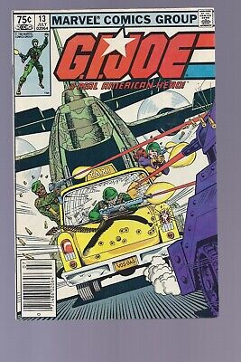 High Grade Canadian Newsstand Edition GI Joe #13 $0.75 Price Variant