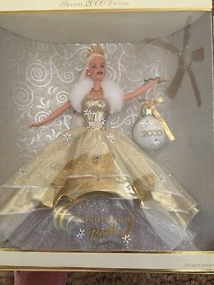 2000 Special Edition Celebration Barbie Mint Condition Happy Holidays NRFB