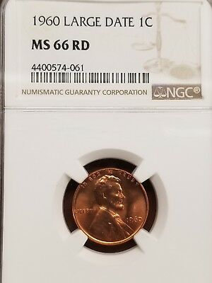 1960 LARGE DATE 1c Proof Lincoln Memorial Cent One Penny NGC