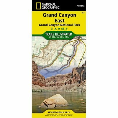 National Geographic Grand Canyon EAST Trails Illus Topo Map - AZ - Map #262