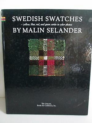 SWEDISH SWATCHES by Malin Selander Weaving HC Unicorn Books