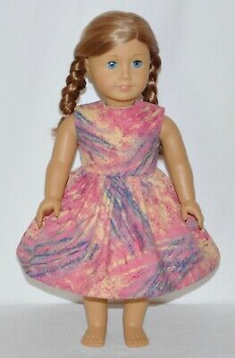 """Painters Splash Dress For 18"""" American Girl Doll Clothes"""