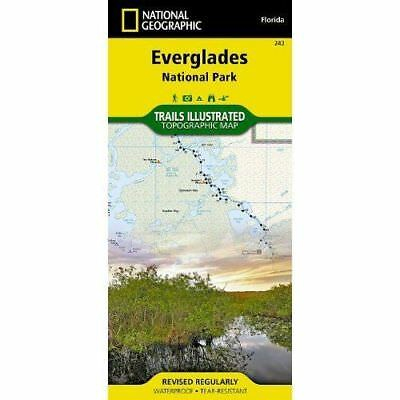 National Geographic Everglades National Park Trails Illus Topo Map - #243