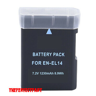 New EN-EL14A Lithium-Ion Battery Pack For Nikon D3300 D3400 D5300 D5500 D5600