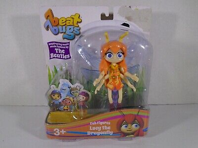 2017 Blip Toys--Beat Bugs Netflix Show--Lucy The Dragonfly Figure (New)