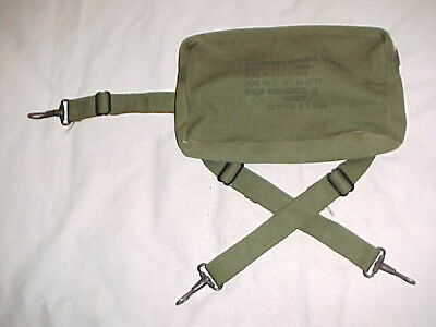 """ORIGINAL, RARE & VG Condition AAF Type E-6 Emergency Pouch For """"K"""" Rations"""