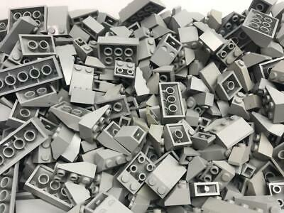 50 Lego Dark Red Slope Pieces Lot bulk incline wedge house roof inverted city