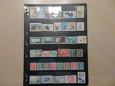 Lot Of 36 Different Used Canada  #175//1105
