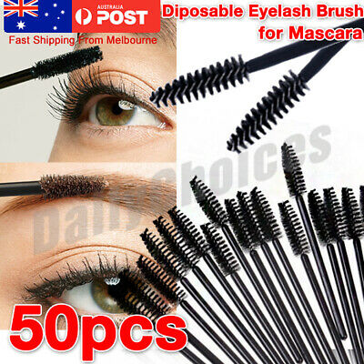 LOT Disposable Mascara Wands Eyelash Brushes Applicator Lash Extension Brush