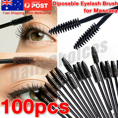 Disposable Mascara Wands Eyelash Brushes Applicator Lash Extension Brush Wand