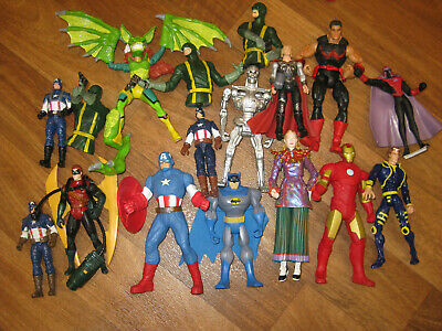 Lot of  Marvel Action Figures Mix As Shown