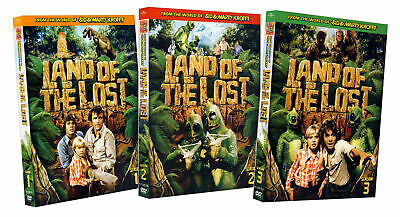 Land of the Lost - Season 1 / 2 / 3  (3 Pack)  New DVD