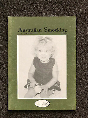 RARE Australian Smocking and Embroidery magazine - Issue 4