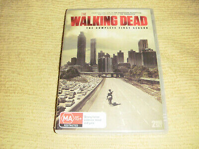 THE WALKING DEAD 1 Complete First Season One = 2 DVD NEW & SEALED TV Series R4